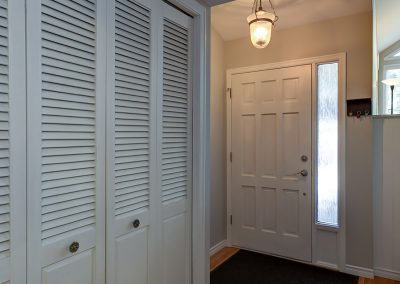 Hallway Before | Align West Homes | Kelowna, British Columbia