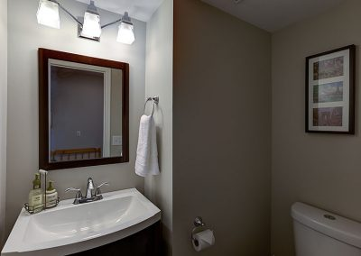 Powder Room Before | Align West Homes | Kelowna, British Columbia