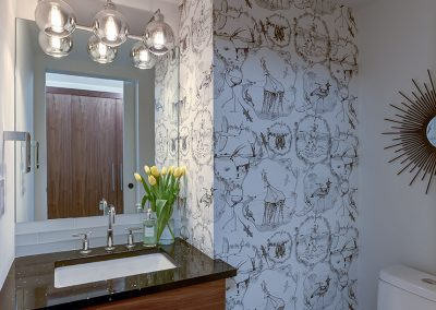 Powder Room After | Align West Homes | Kelowna, British Columbia