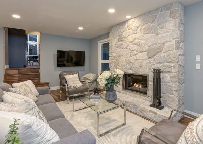 Familyroom after | Align West Homes | Kelowna, British Columbia